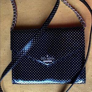 kate spade authentic mini shoulder w polka dots